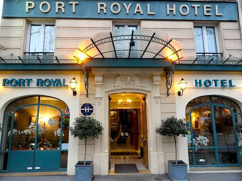 port royal hotel paris review by eurocheapo. Black Bedroom Furniture Sets. Home Design Ideas